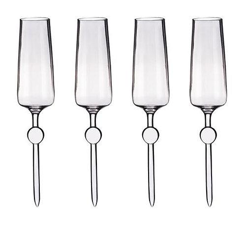 Beach Glass  - Champagne célébration pack de 4