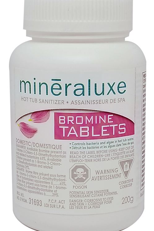 Mineraluxe Tablettes de Brome 200g