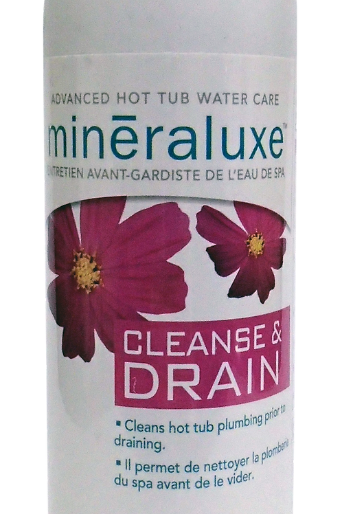 Mineraluxe Cleanse & Drain 750ml