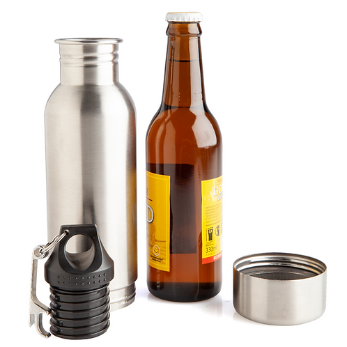 Stubby Cooler Flask