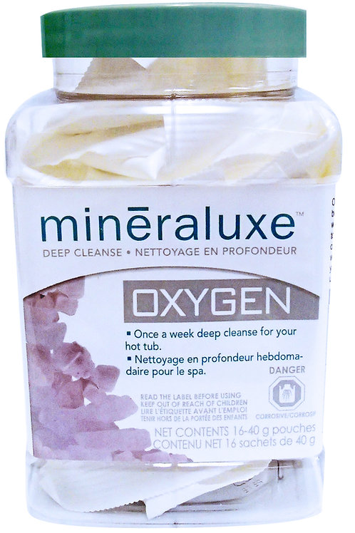 Mineraluxe Oxygen 12 x 40g