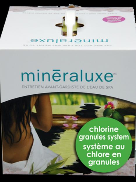 Mineraluxe Kit de 3 Mois Chlore en Granules