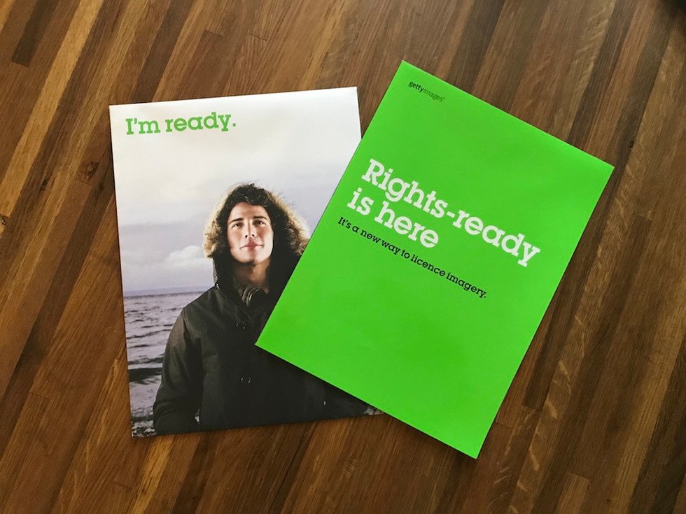 Rights Ready launch direct mail