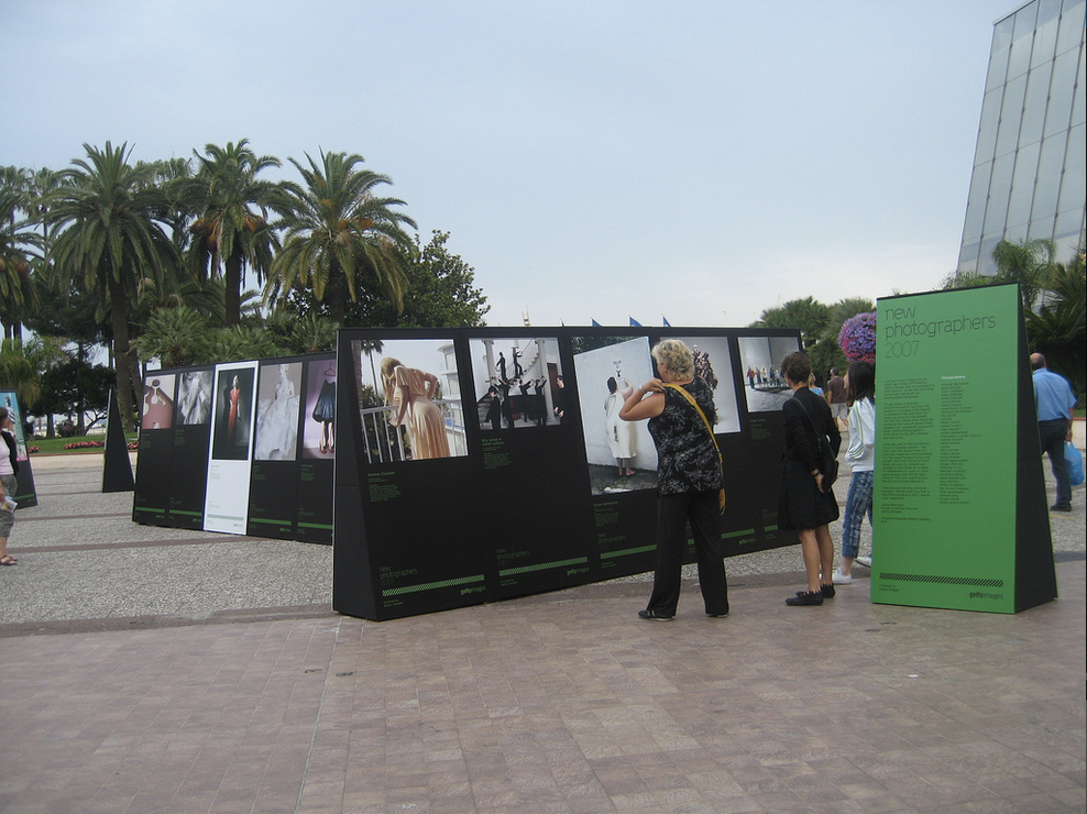 Cannes Lions New Photographers exhibit