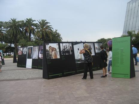 Cannes Lions New Photographers exhibit