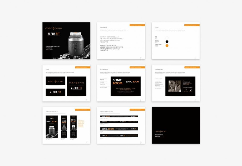 Brand + campaign guidelines