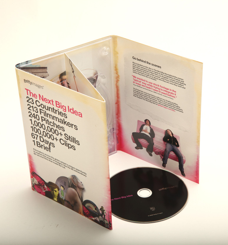 The Next Big Idea DVD case