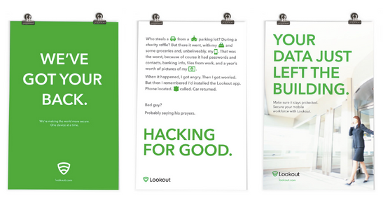 Brand posters