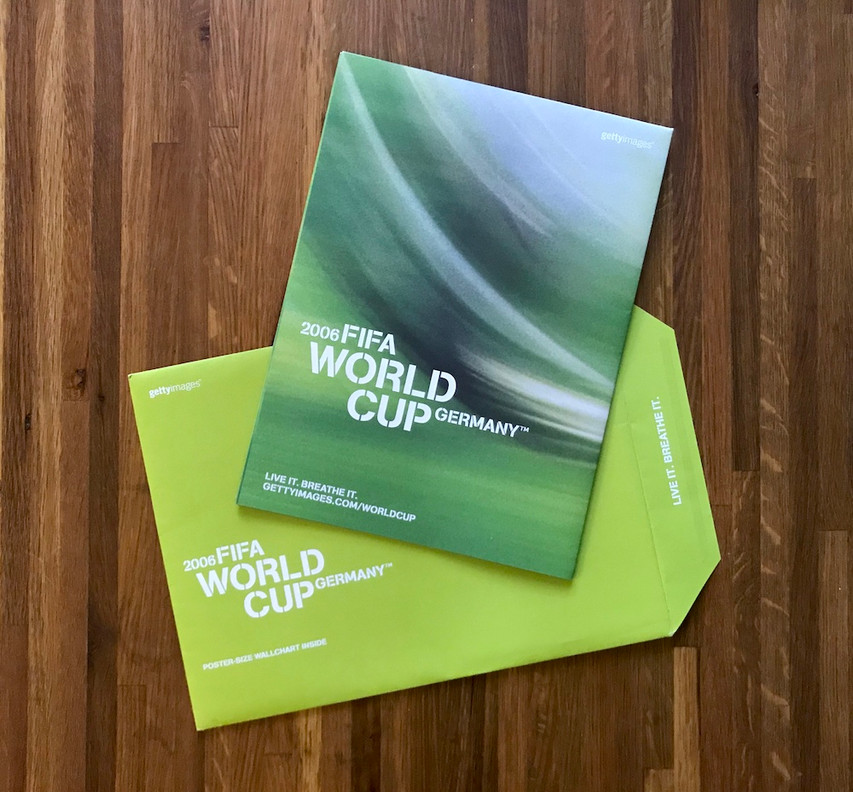 World Cup poster direct mail