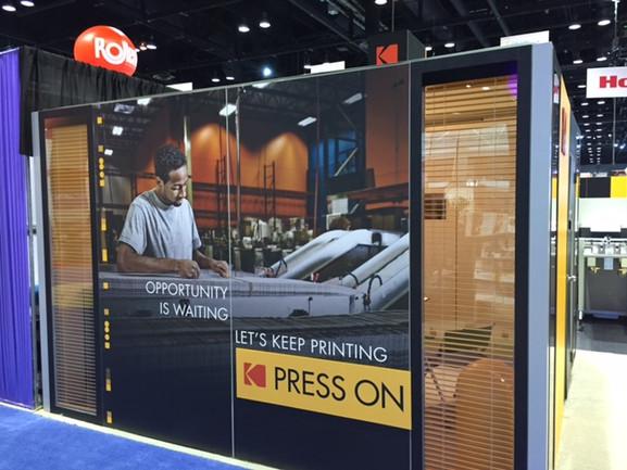 PRINT Conference Kodak booth