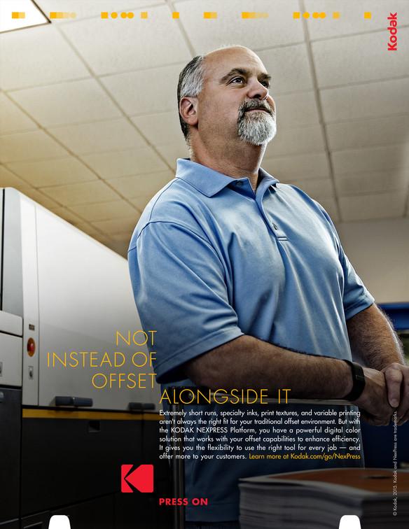Press On digital printing ad