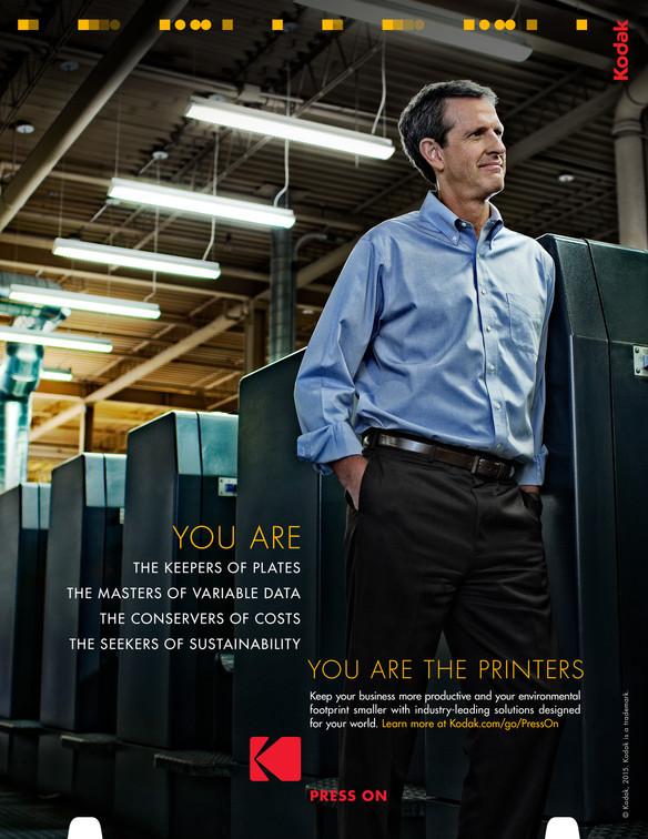 Press On printer ad
