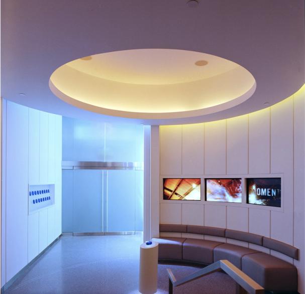 Sales presentation center
