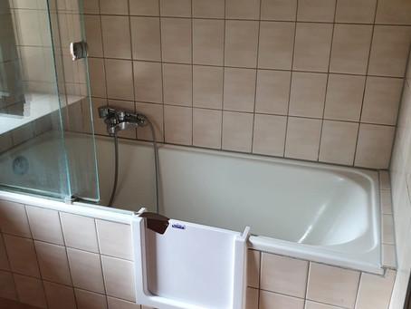 Votre porte de baignoire dans toute la Suisse romande