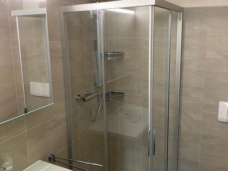 Rénovation d'une salle de douche à Sion