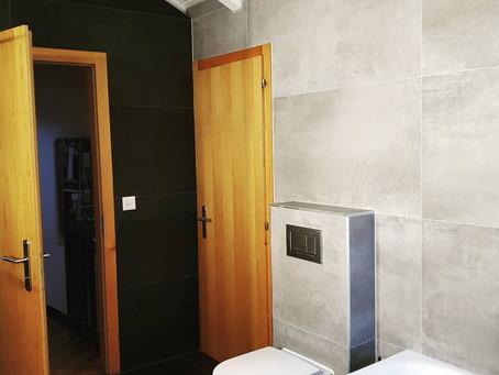Rénovation d'une salle de bain à Savièse (Valais)