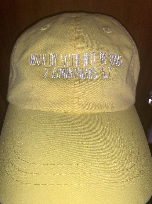 Walk by faith hat
