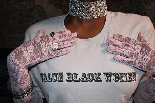 Value Black Women Tee