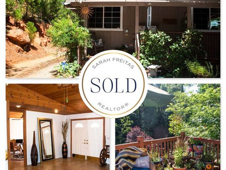 Just SOLD! Pine Cone Way, Grass Valley $475,000