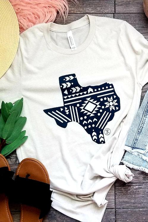 Aztec Texas {Heather Cream}