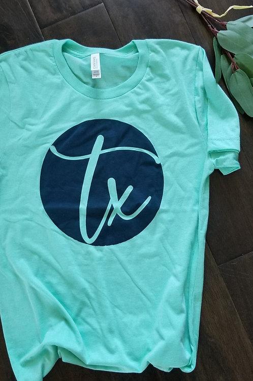 TX Circle {Mint}