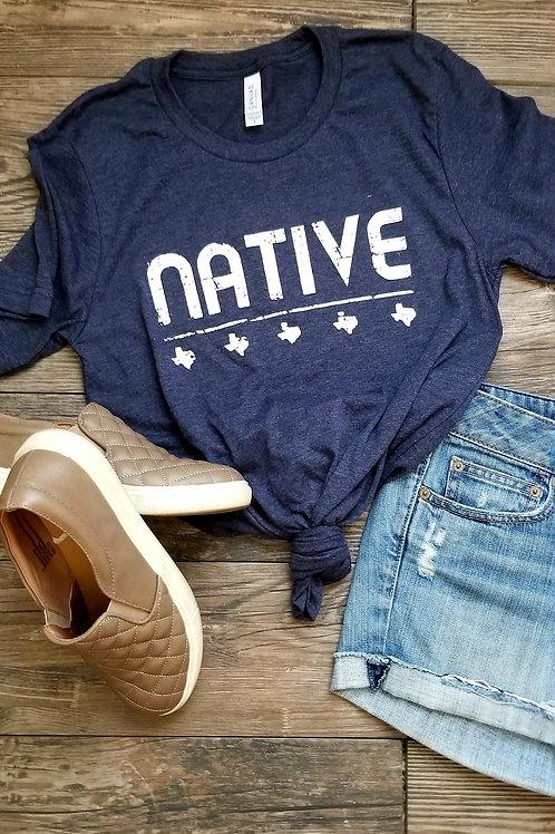 Texas Native {Htr Navy}