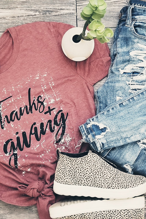 Thanks & Giving {Htr Clay}