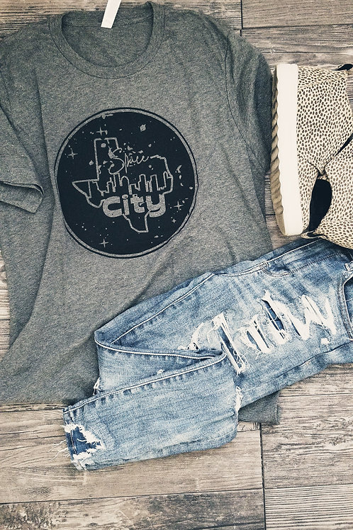 Space City Texas {Htr Grey}