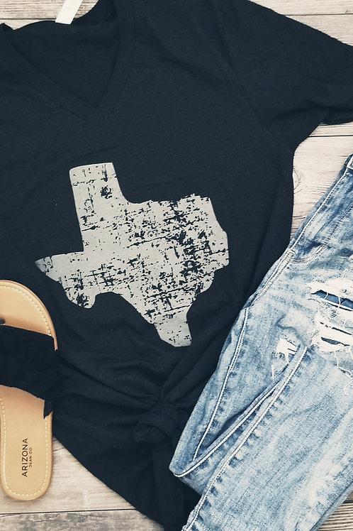 Grunge Texas Design {Htr Black V}