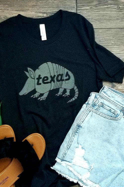 Texas Armadillo {Dark Grey}