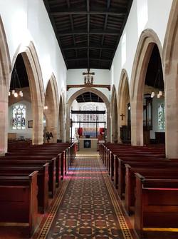 St John the Baptist, Newcastle - Nave