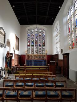 St John the Baptist, Newcastle - Chancel
