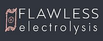 Flawless Electrolysis Leicester permanent hair removal & skincare clinic logo