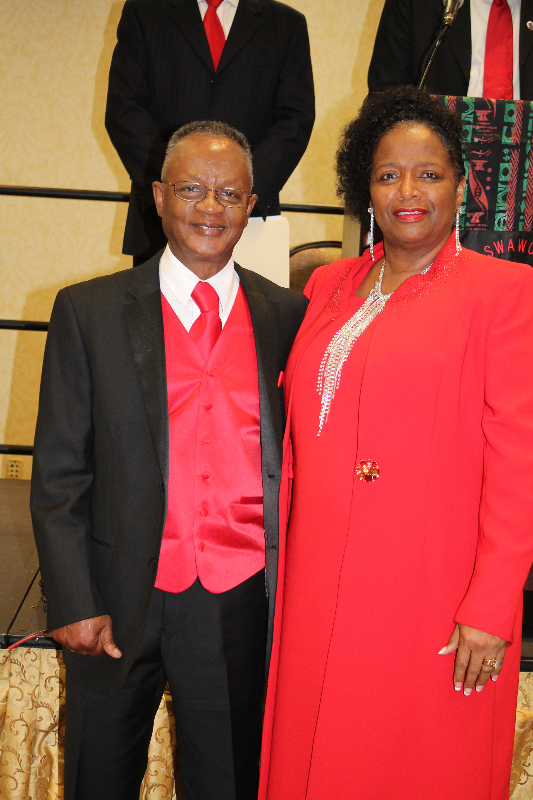 Rev. and Mrs. Washington