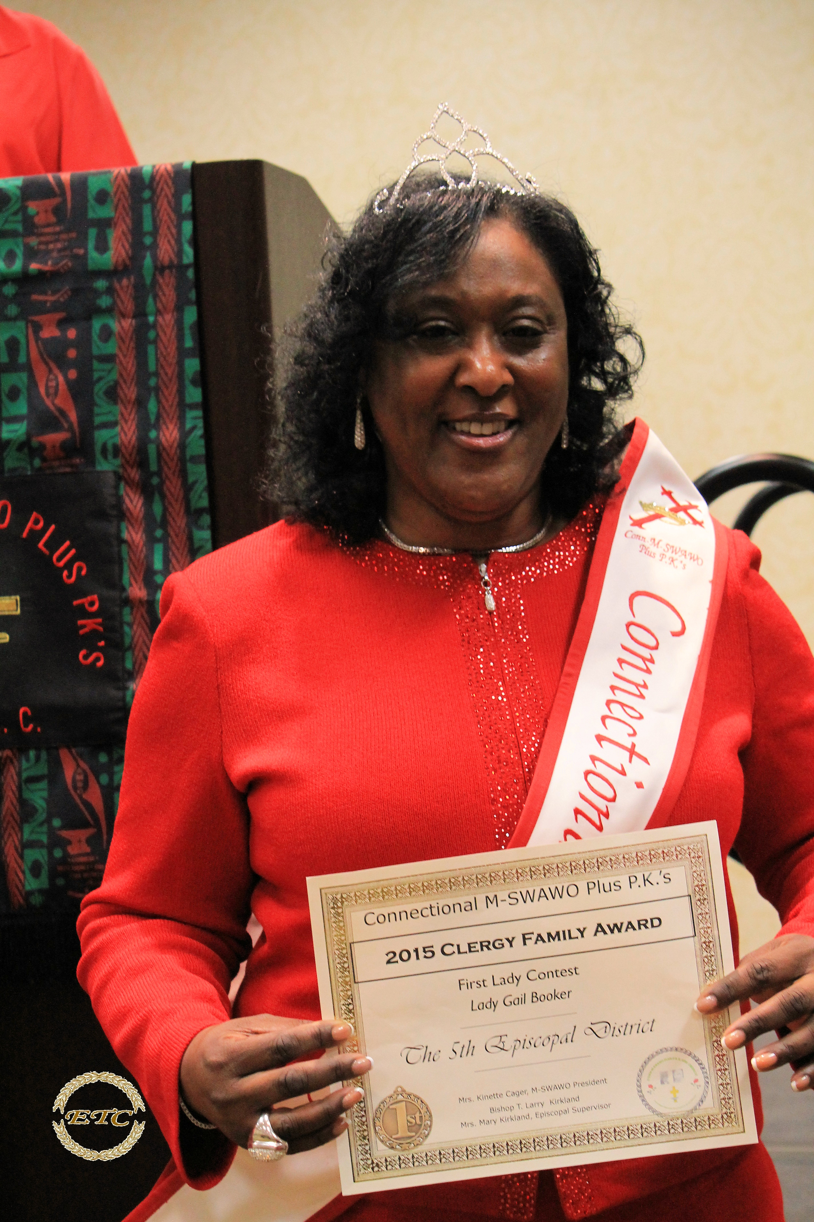 Queen Mrs. Gail Booker
