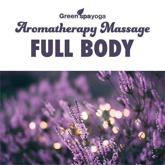 1h Full Body Aromatherapy Massage