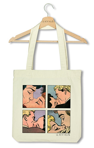 "Tote bag ""Just one kiss 2"""