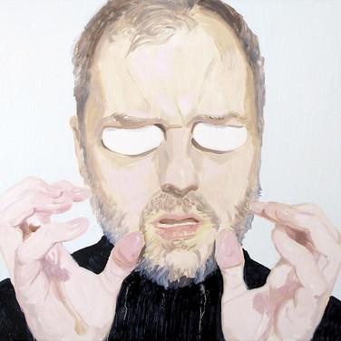 Man without eyes