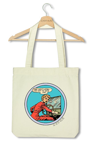 "Tote bag ""They won't listen"""