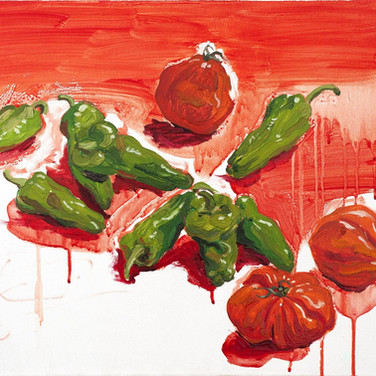 Tomatoes and chilies