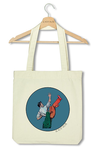 "Tote bag ""Crocodile"""