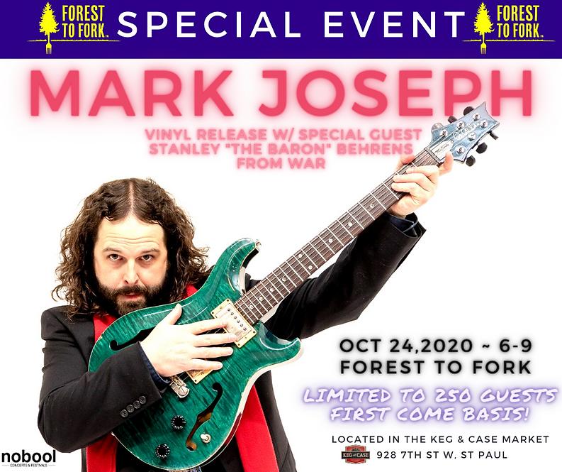 Mark Joseph Vinyl Release w_ special gue