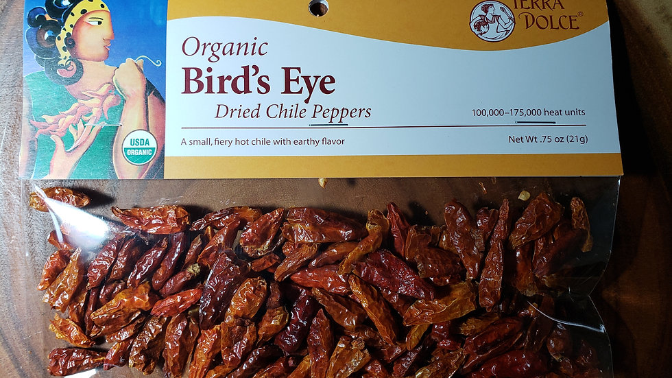 Birds Eye Dried Chile Peppers