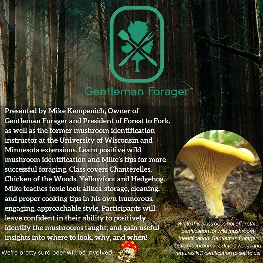 Summer Wild Mushroom Identification Class