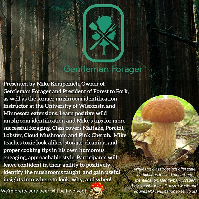 Fall Wild Mushroom Identification Class