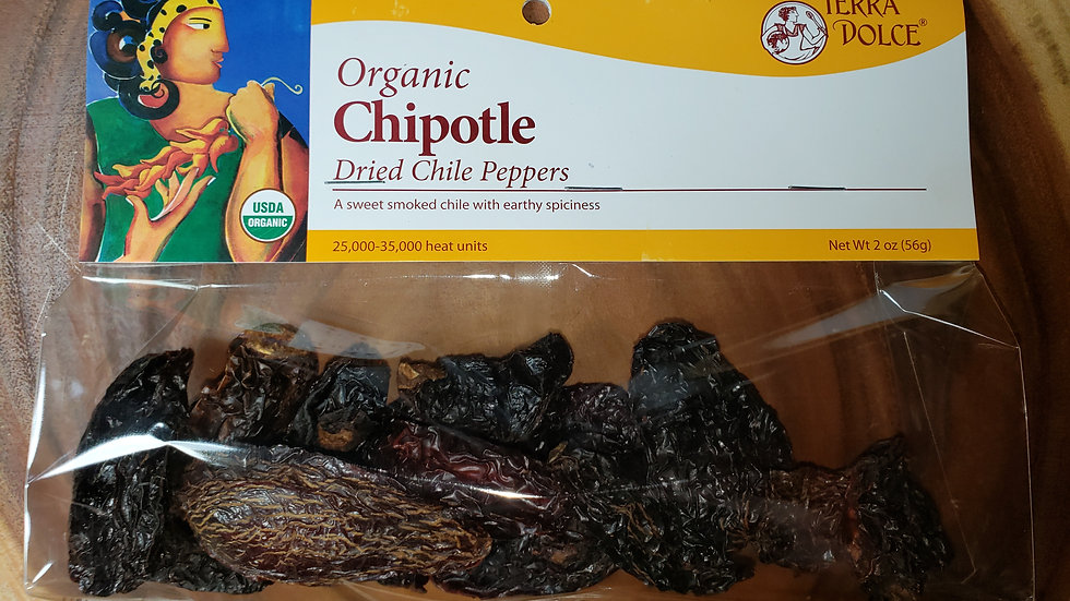Chipotle Dried Chile Peppers