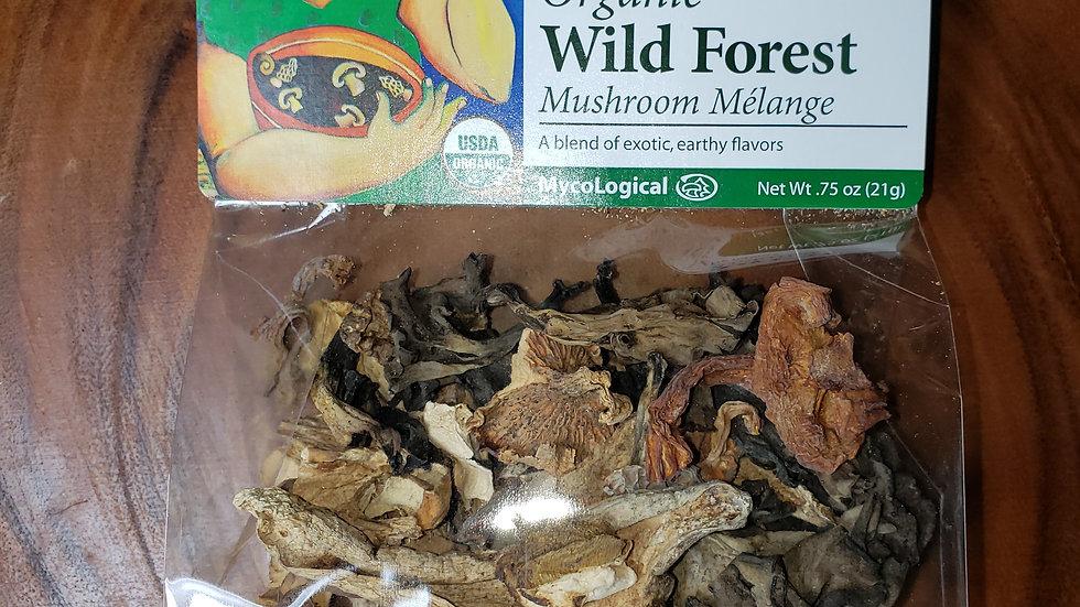 Wild Forest Dried Mushroom Mélange