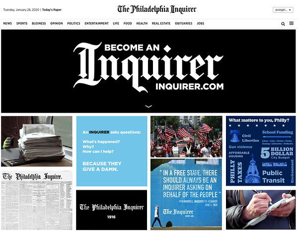 Become An Inquirer Microsite