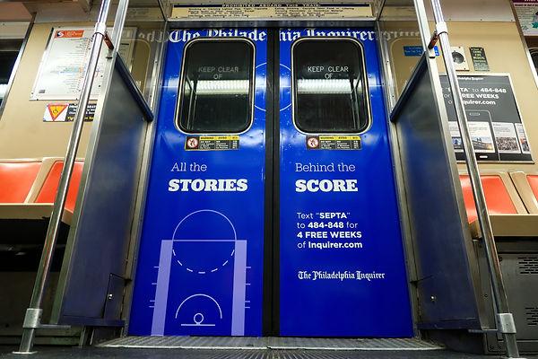 Septa Inquirer Sports Campaign