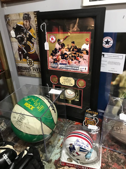 Sports collectibles in stock